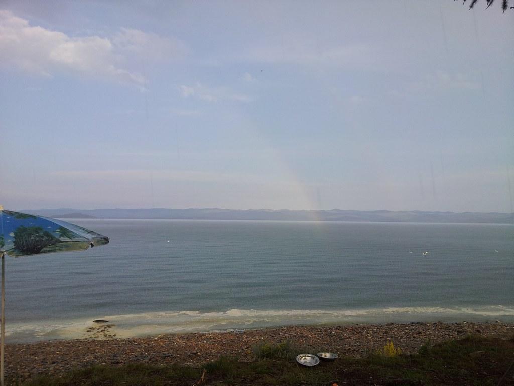 Радуга на Байкале